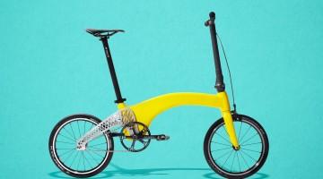Cea mai ușoară bicicletă pliabilă din lume este creată de doi designeri români