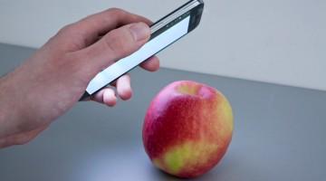 Aplicaţia care vede în interiorul alimentelor
