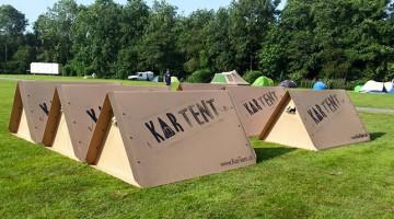 KarTent: cortul care vine singur la festival. Și e 100% reciclabil!