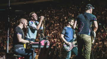 Coldplay e o trupa de văzut live!