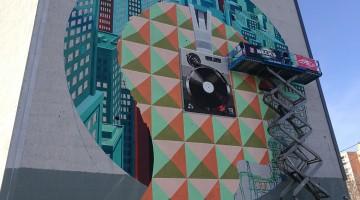 Sweet Damage Crew – Street Art view la Beck's Urban Studio