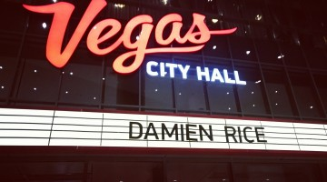 I remember it well...Damien Rice la Moscova