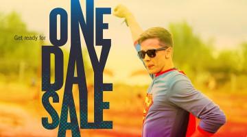 The Sunny Days Sale începe cu un One Day Sale în 19 Aprilie.