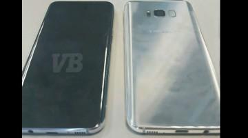 Iată primele imagini oficiale cu Galaxy S8