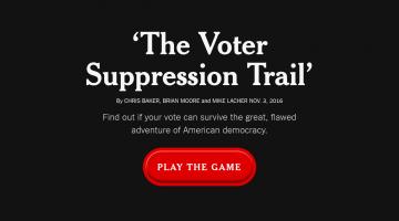 Cum îndeamnă New York Times electoratul să voteze în 8 noiembrie