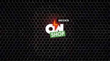 Shop Beck's: un singur loc unde capacele de bere se transformă în produse!