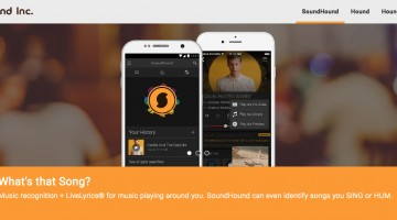 Soundhound, un fel de SIRI + Shazam + CarKit for the love of music!