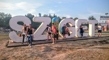 Sziget 2016 – The Last Shadow Puppets au tras cortina la festivalul din Budapesta